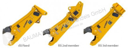 Vybavenie stavebného stroja drapák demolačný drapák Indeco ISS 30/50