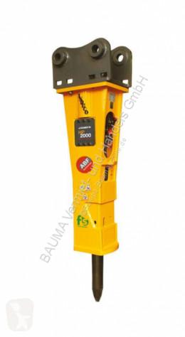 Equipamientos maquinaria OP Martillo hidráulica Indeco HP 2000 FS