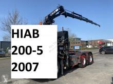 Hiab 200-5 + 5E & 6E FUNCTIE + REMOTE CONTROL + 5X HYDRAULIC EXTENSION 200-5 tweedehands hulpkraan