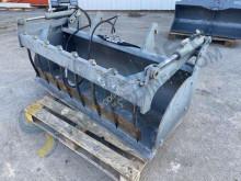 Equipamientos maquinaria OP Weidemann Crocodile 1650mm Pala/cuchara Cazo de limpieza rotativo usado