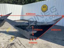 Cupă trapezoidală 4380 / 430mm - attache Poclain
