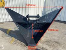 Cupă trapezoidală 3000 / 380mm - axes 90 et 80mm