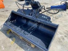 Equipamientos maquinaria OP Pala/cuchara Cazo de limpieza rotativo Mecalac 2000mm - Séries 8/10/11 et 12