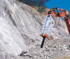Equipamientos maquinaria OP Martillo hidráulica BRH GB